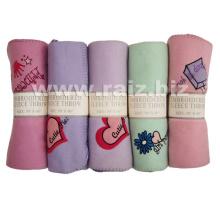 Embroidery Fleece Blanket for Baby