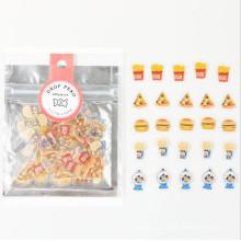 Мода Kawaii Прозрачный Мини-Конфеты Виниловые Наклейки Пакет