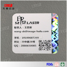 Hot Selling Security Holographic Printing Paper