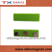 Magnetic Badge Fastener for Name Badge