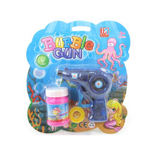 Plastic Friction Bubble Gun with Light (10221939)