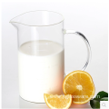 350ml Handle Clear Glass Measuring Drinking Cup