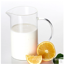 350ml Handle Clear Glass Measuring Trinkbecher