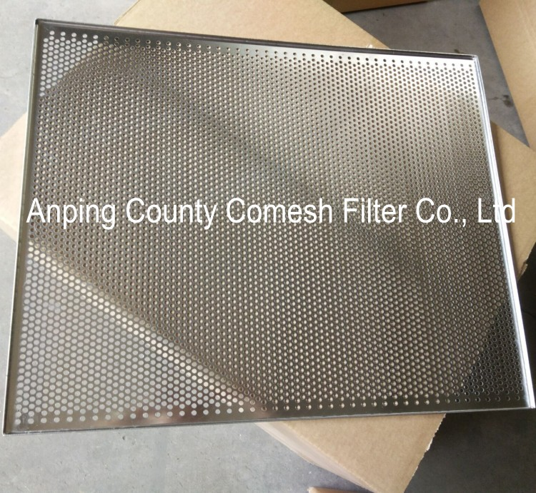 Mesh Sheet Metal Punched Tray