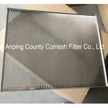 Stainless Steel perforated dehydration tray