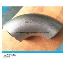 ASTM A403 Codo de tubo de acero inoxidable sin soldadura Wp317