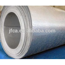 3003 tiras de alumínio finas estampadas em estuque para geladeira