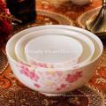 atacado tigela de arroz de porcelana, saladeira de cerâmica
