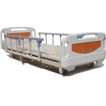 Super Low Electric Hospital ICU Bed with New ABS Head and Foot Board (XH-12)
