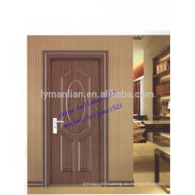 piel de la puerta moldeada mdf