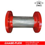 EH-600M Stainless Steel Braided Flexible Hose Pipe FM Approved