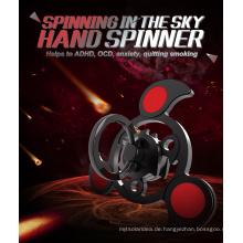 2017 Neueste Style Air Rotating Spinner Spielzeug Fidget Hand Spinner für Messing Relieve Stress