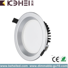 Branco Recessed 12W do diodo emissor de luz Downlights de Dimmable 4 polegadas