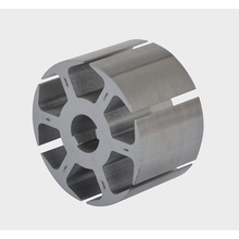 Interlocked rotor core stamping