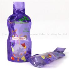 Bolsa de jugo de plástico especial en forma