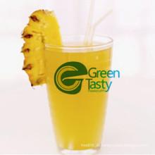 Ananas Pulpy Saft trinken in Zinn 250ml