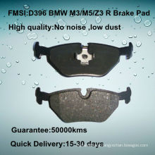 D396 OE quality car disc 323/325/328 brake pad