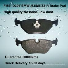 D396 OE qualidade carro disco 323/325/328 freio pad