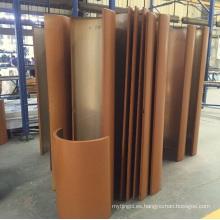 Perfil / Panel / Hoja de aluminio y aluminio recubiertos con procesamiento CNC