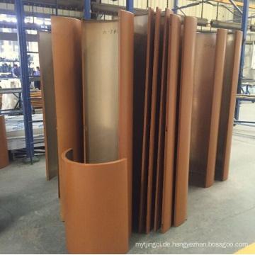Aluminium- und Aluminiumprofil / Platte / Blech beschichtet mit CNC-Verarbeitung