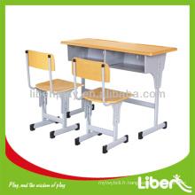 Bureau élévateur double et chaise LE.ZY.001