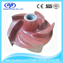 28% High Chrome Alloy A05 Slurry Pump Open Impeller