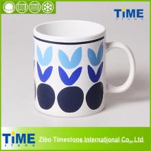 Grandes tasses en porcelaine avec poignée pour café (CM612060)