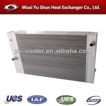 water cooler / air to air heat exchanger / aluminum excavator radiator / excavator spare parts / excavator cooler
