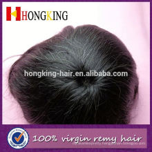 Indian Human Hair Injected Thin Skin Toupee