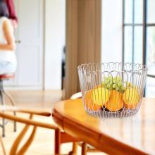 Luxusverpackung Geschenk Wicker Metall Obst-Gemüse-Korb