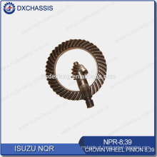 Engrenagem de pinhão genuíno da roda de coroa de NQR 700P 8:39 NPR-8: 39
