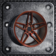 15 18 inch alloy wheel with painted inner groove