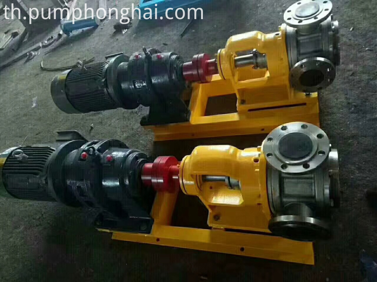 high viscosity pump