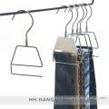 Pivotante Metal crochet affichage couvert en plastique cravate foulard cintres