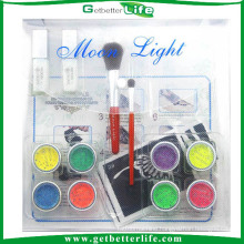 Getbetterlife 2014 New Fashionable Temporary 8Colors Glitter Tattoo Kit
