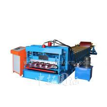Metall-Dach-Ziegel-Maschine gewellte Stahlblech-Maschine