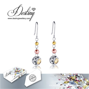 Destiny Jewellery Crystals From Swarovski Earrings Round Earrings