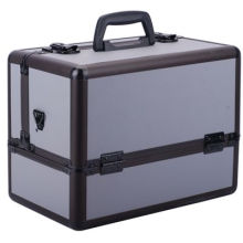 Professional Aluminium Alloy Makeup Case Portable Cosmetics Case