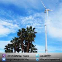5000W mini outre de générateur de vent de grille / éolienne / énergie d'énergie éolienne