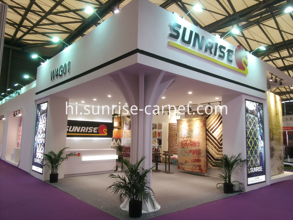 Booth 2 of SUNRISE CARPET