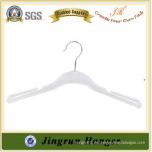 Online-Shopping Schwere Qualität White Gown Hanger aus Kunststoff