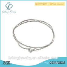 New arrival high quality platinum plated necklace platinum chain necklaces