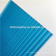 Folha oco de policarbonato colorido de 4mm / 6mm / 8mm / 10mm / 12mm / 16mm para cobertura