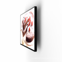 Wholesale 43inch wall mounted display digital signage for food restaurant kitchen