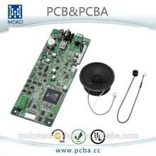 Fabricante avanzado del PWB del sistema de alarma casero elegante de la seguridad y de la comunicación del OEM