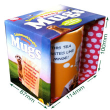 High Quality Cardboard Mug Box for Gift Packing Box