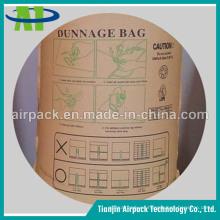 Bolsa de aire al por mayor de alta calidad del Dunnage del envase de papel de Kraft