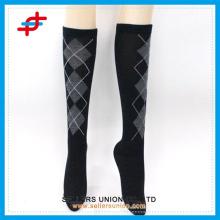 Japanische Strumpf Mädchen Knie High Sport Socken, Kompression Ärmel Beinwärmer