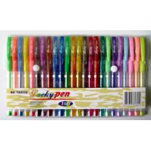 24 цвета блеск шариковая ручка (5804)