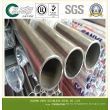 Fabricación Tubo de acero inoxidable sintético promocional y tubo